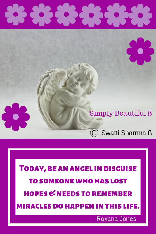 Quotes on angels, good people and miracles.