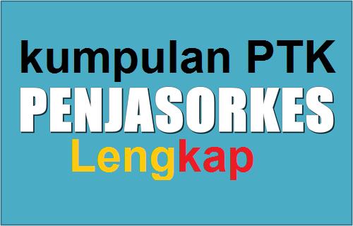 Kumpulan PTK Pendidikan Jasmani Olah raga dan Kesehatan