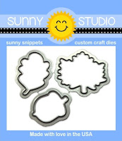 Sunny Studio Stamps: Beautiful Autumn Coordinating Dies