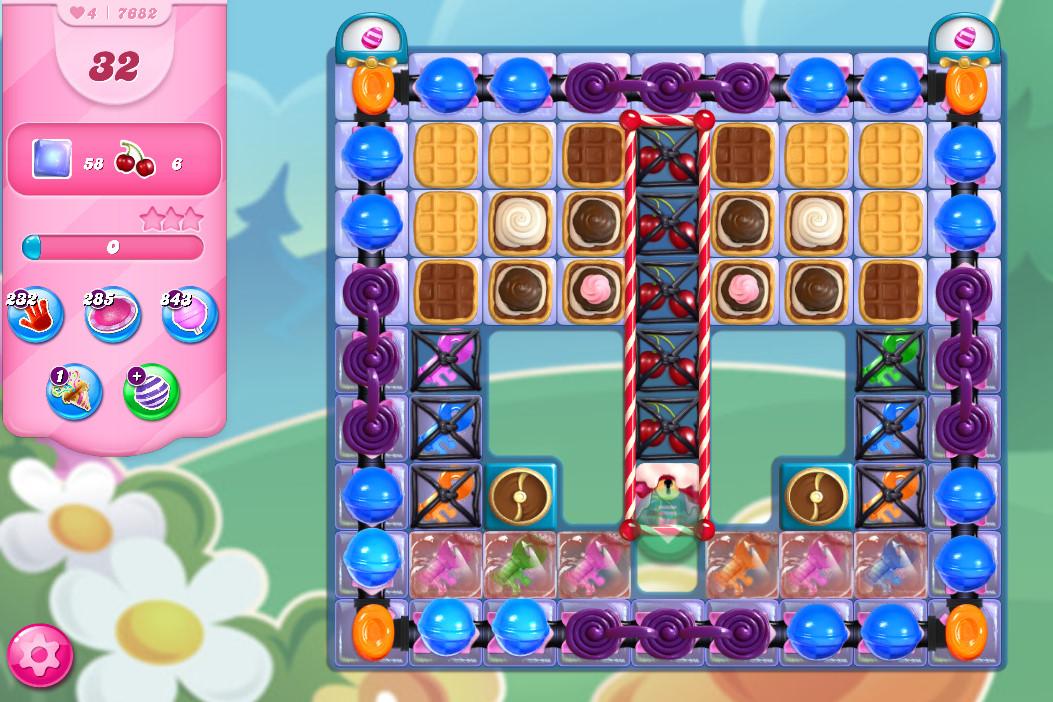 Candy Crush Saga level 7682
