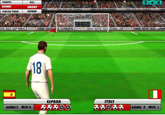 Futbol Eurocopa 2012 Penaltys Infantiles Juegos Entretenimiento