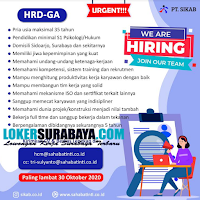 Open Recruitment at PT. SIKAB Sidoarjo Oktober 2020