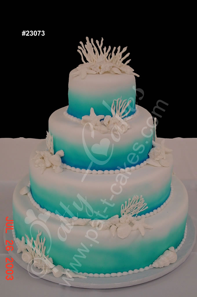 Birthday Cake Designs Beach Theme