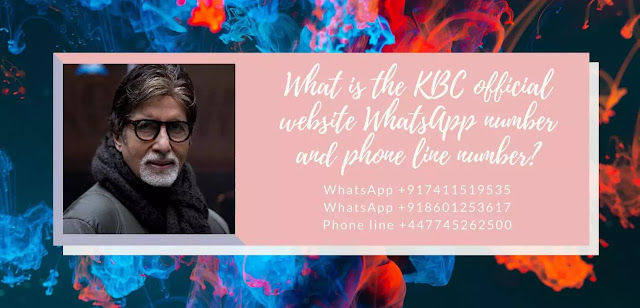 instructions for kbc 25 lakh lottery winner how to get his lottery into his bank account