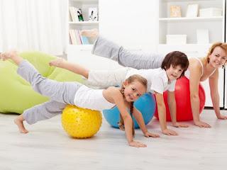 أهم التمارين الرياضية للأطفال.