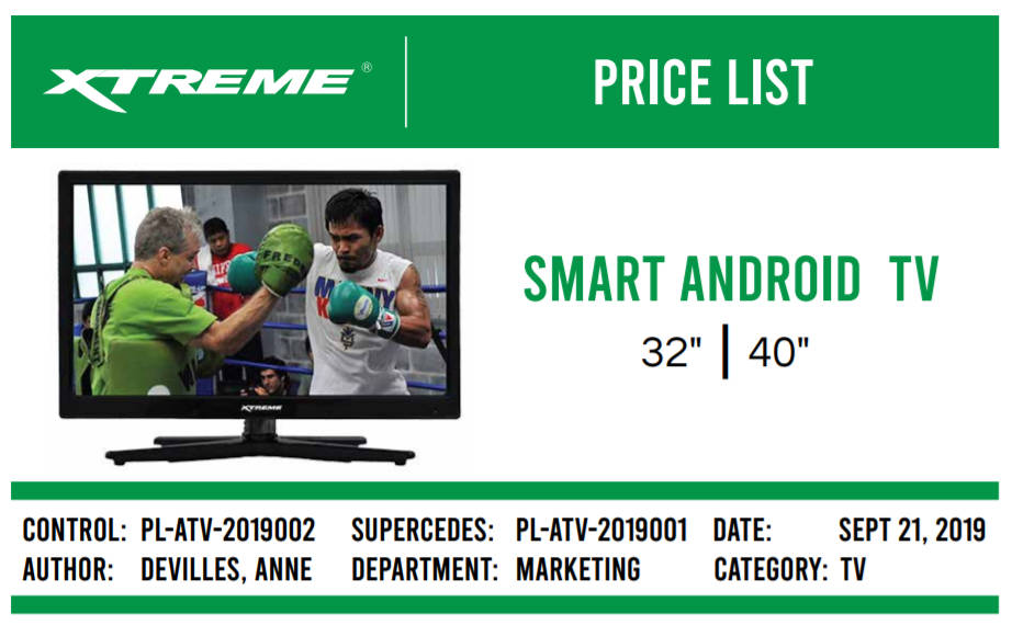 Xtreme Smart Android TV