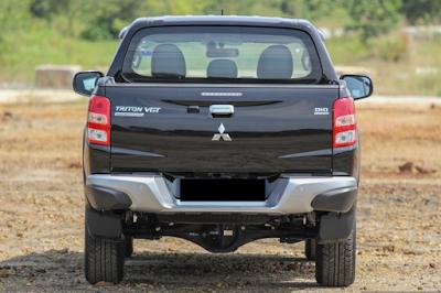Eksterior Mitsubishi All New Strada Triton