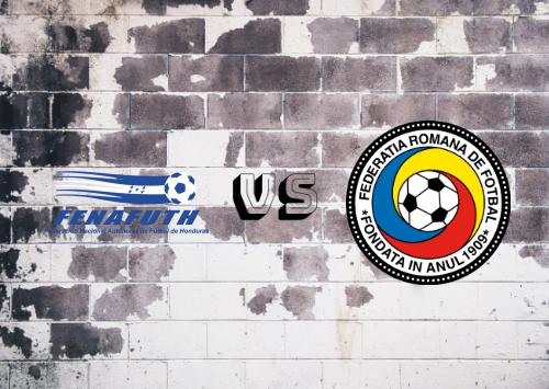 Honduras  vs Romania Resumen