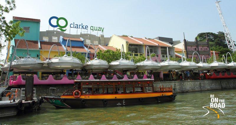 Clarke Quay Riverside, Singapore