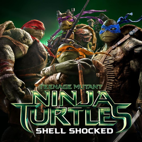 "Wiz Khalifa, Juicy J & Ty Dolla $ign - Shell Shocked (feat. Kill the Noise & Madsonik) [From ""Teenage Mutant Ninja Turtles""] - Single Cover"