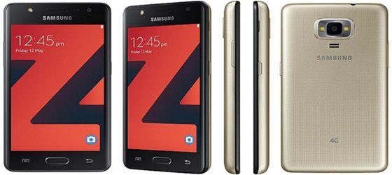 Samsung Z4 4G smartphone with 1GB RAM