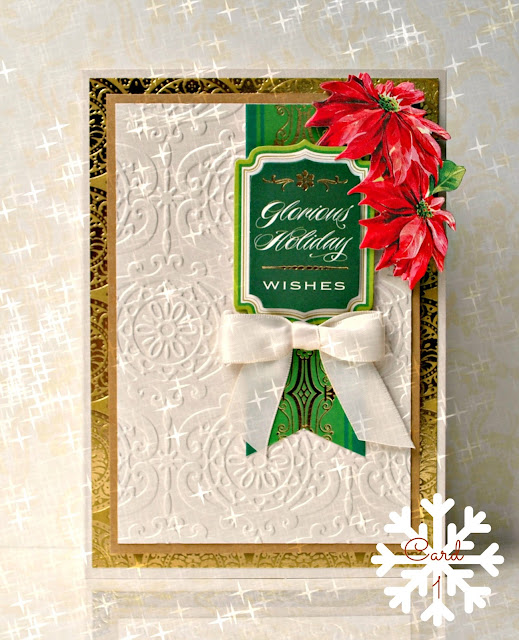 Crafty Creations With Shemaine: 25 Days Of Holiday Cards Day 1