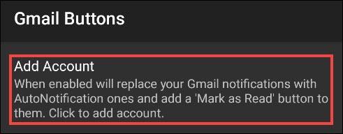 """اضغط على """"إضافة حساب""""."""