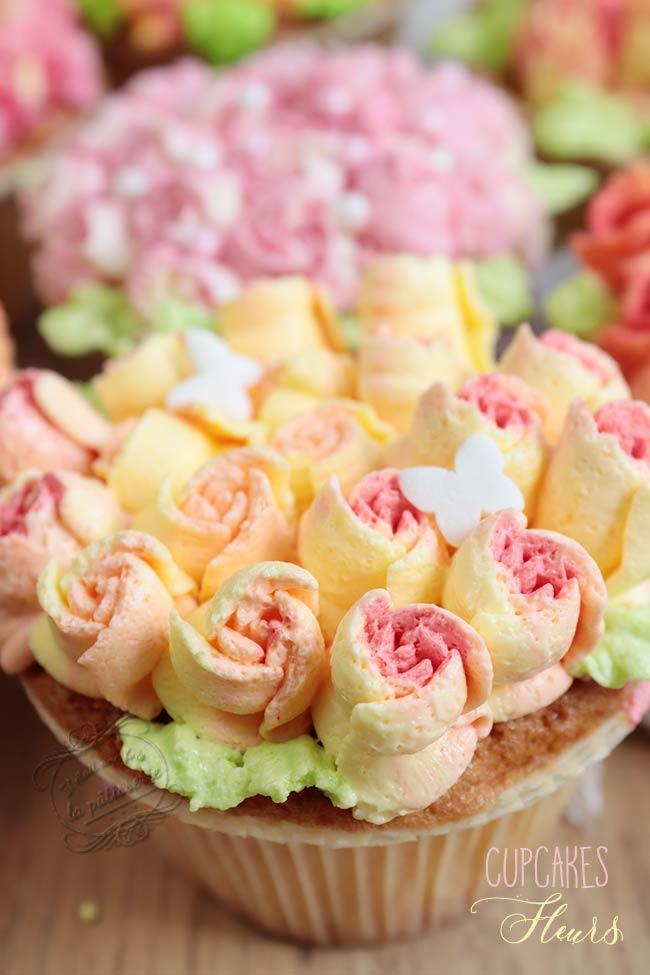 cupcakes en fleurs