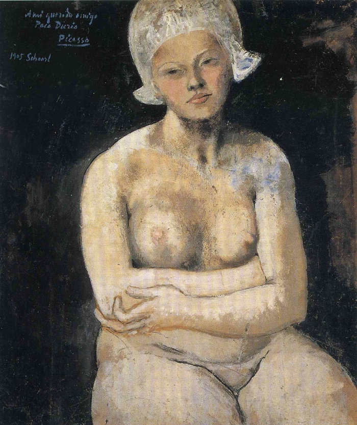 Pablo Picasso 1881-1973 | Nude Painting