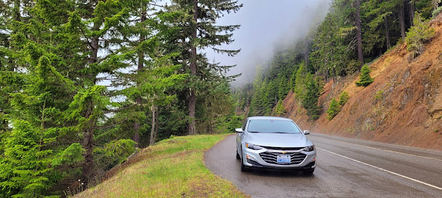 Our ride going to Hurricane Ridge Olympic National Park