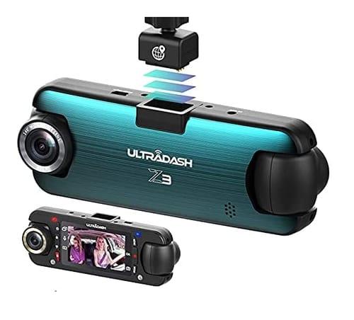 Cansonic UltraDash Z3 Dual Lens Dash Cam for Car