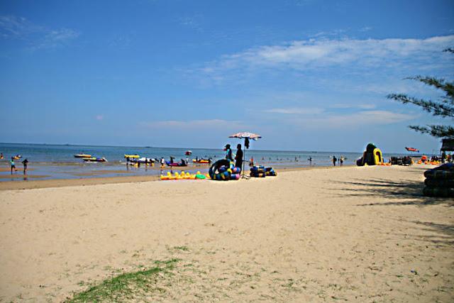 Wisata Pantai Manggar Segarasari Di Balikpapan