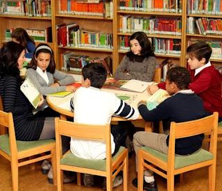Foto por el Día de la Biblioteca escolar