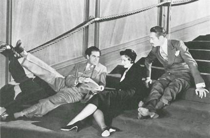 Frank Capra Barbara Stanwyck Adolph Menjou