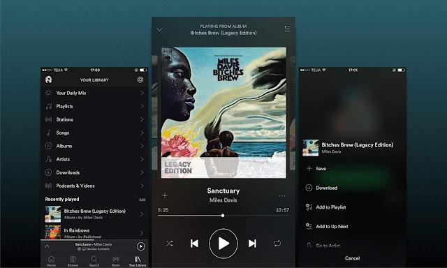 5 Aplikasi Streaming Musik Gratis Untuk Android