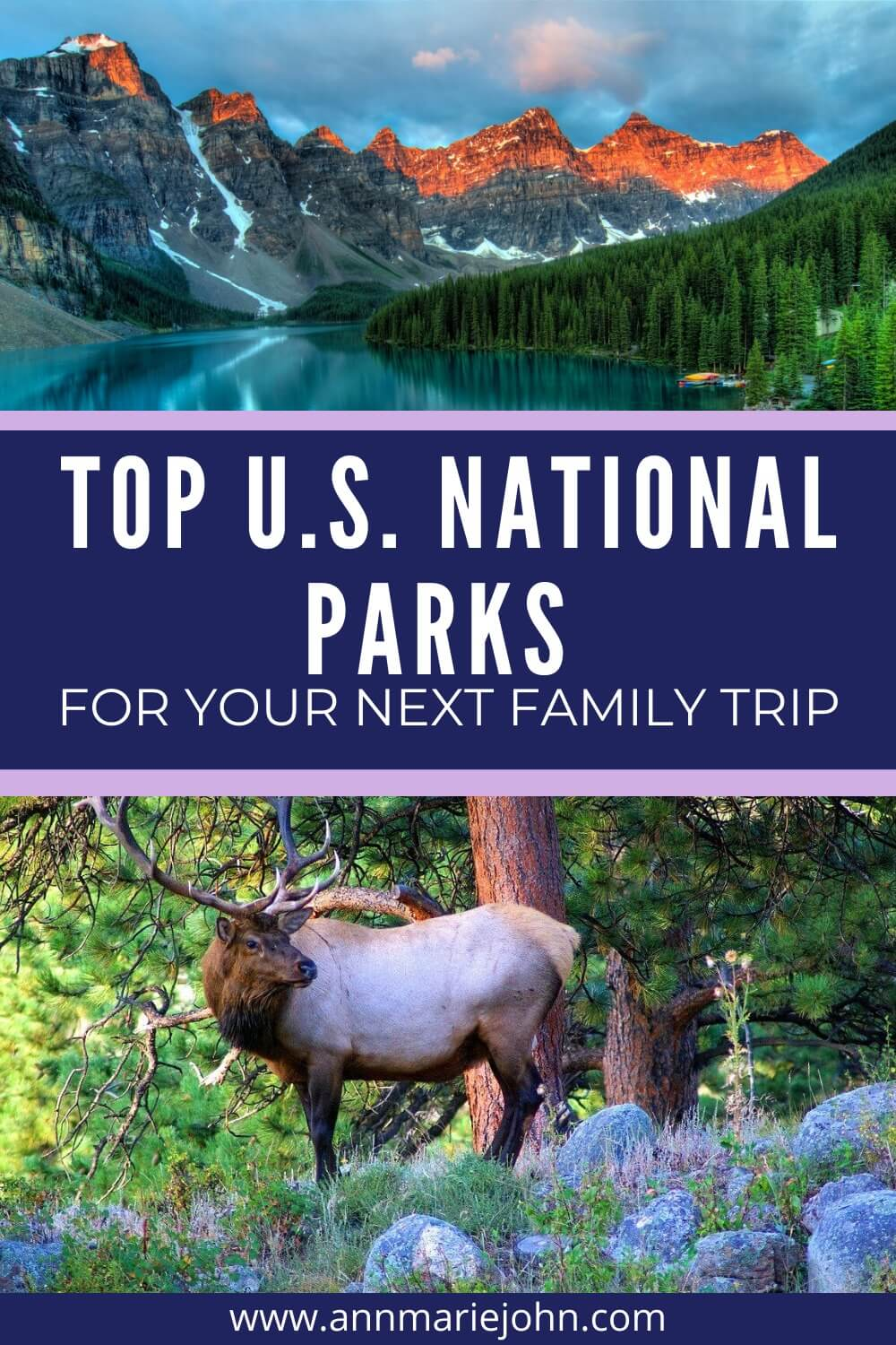 Top US National Parks for your next family trip
