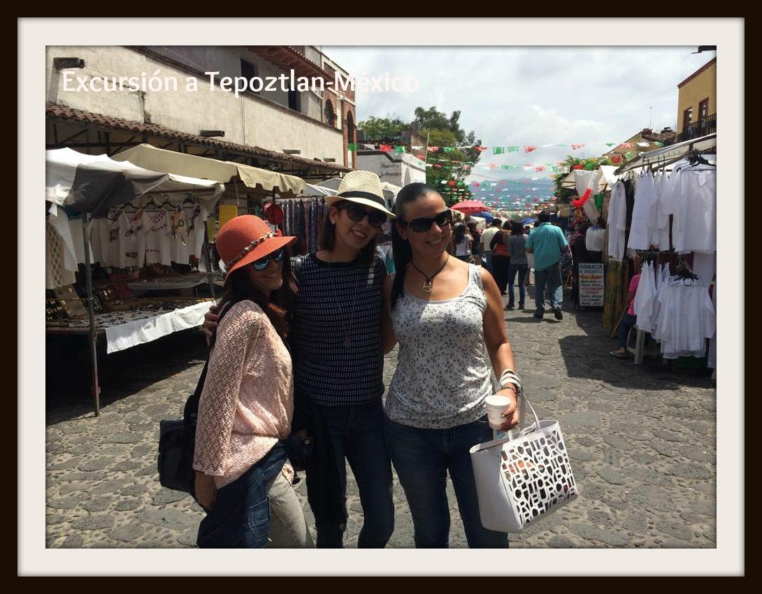 Excursión a Tepoztlan en México un gran lugar
