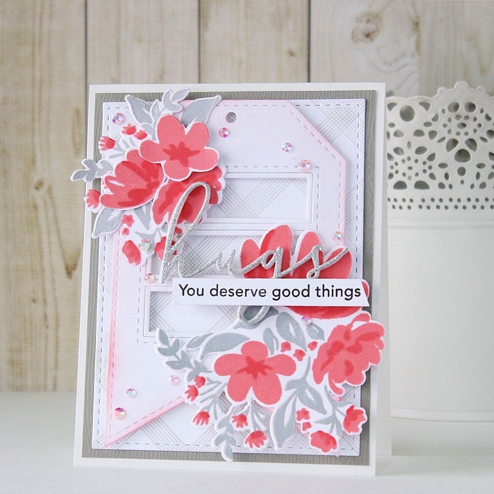 Quill and Punch Works: Pinkfresh Studio | Hugs Card
