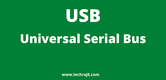 USB full form, What is the full form of USB