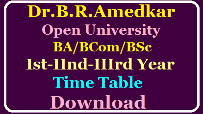 Dr.B.R.AMBEDKAR OPEN UNIVERSITY UG EXAMINATION ONLINE REGISTRATION FOR Spell-I /2020/03/Braou-Degree-exams-time-table-hall-tickeats-download.html