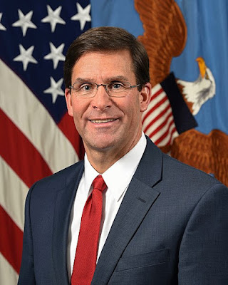 Mark Asper,The US Defence Secretary (Defence Minister)