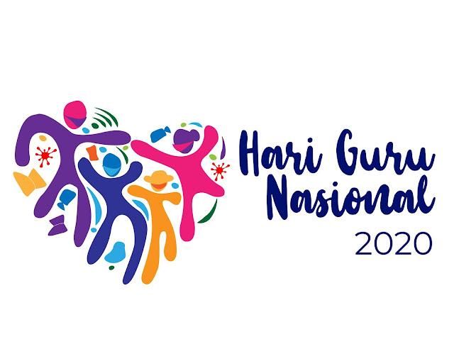 Logo Hari Guru Nasional 2020 Kemendikbud