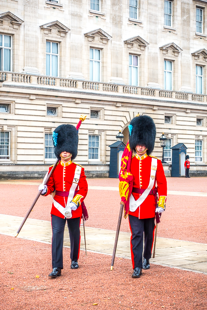 Changing of the Guards Buckingham Palace - London, England
