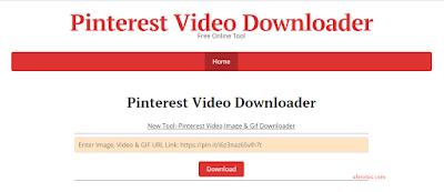 download vidio menggunakan pinterest vidio downloader