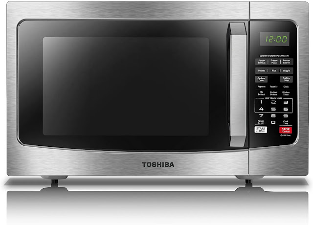 2. Toshiba EM131A5C SS Microwave Interior Stainless
