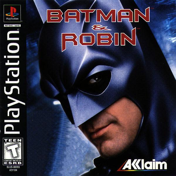 Batman y Robin - PSX - Portada