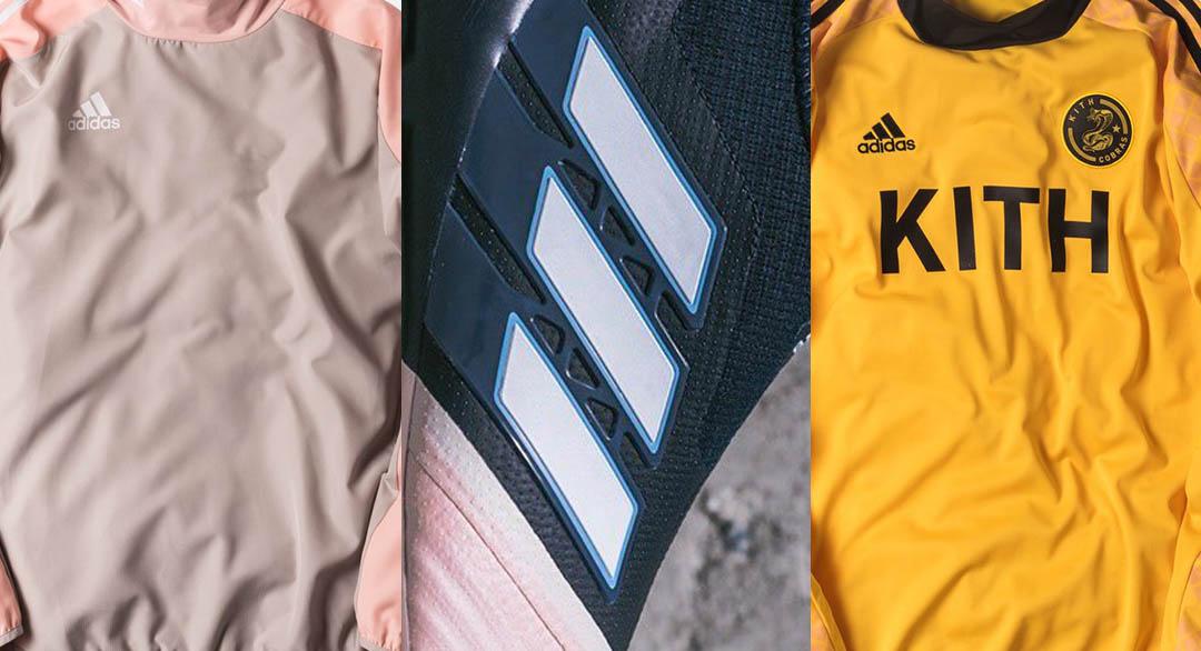 on sale 0b08b 2313a Die neue Adidas x Kith Fußballkollektion wird heute um 11 Uhr EST  vorgestellt. Die Kollektion enthält mehr als 30 unterschiedliche Artikel  wie Fußballschuhe ...