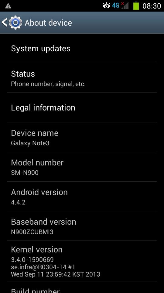 Note 3 N900 Firmware