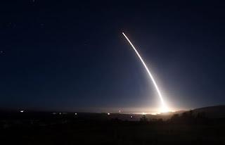 Uji Rudal Antar-Benua (ICBM) Minuteman 3