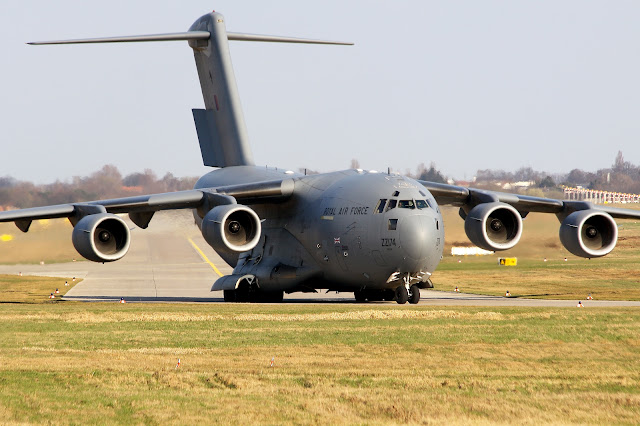 Royal Air Force Boeing C-17A Globemaster III