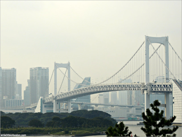 Rainbow Bridge en Odaiba, Tokio