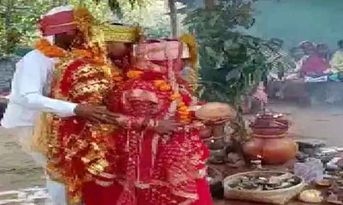 News, National, Marriage, Youth, Bastar, Man Marries 2 Women Together In Chhattisgarh