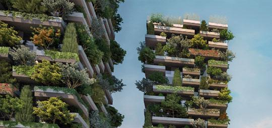 Curioso blogger bosque vertical en medio de mil n italia for Giardino verticale