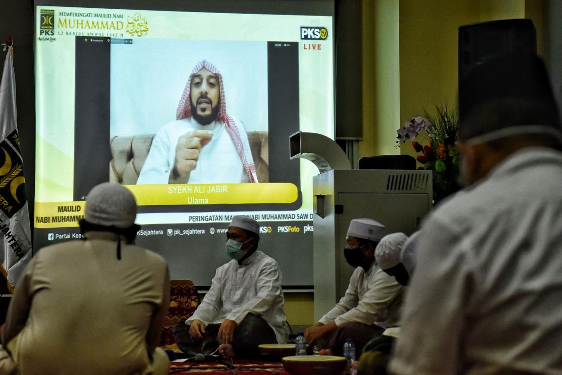 Di Acara PKS, Syekh Ali: Semoga Kita Semua Dipertemukan di Surga Allah