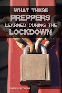 Isto é o que 75 Preppers aprenderam durante o bloqueio 2