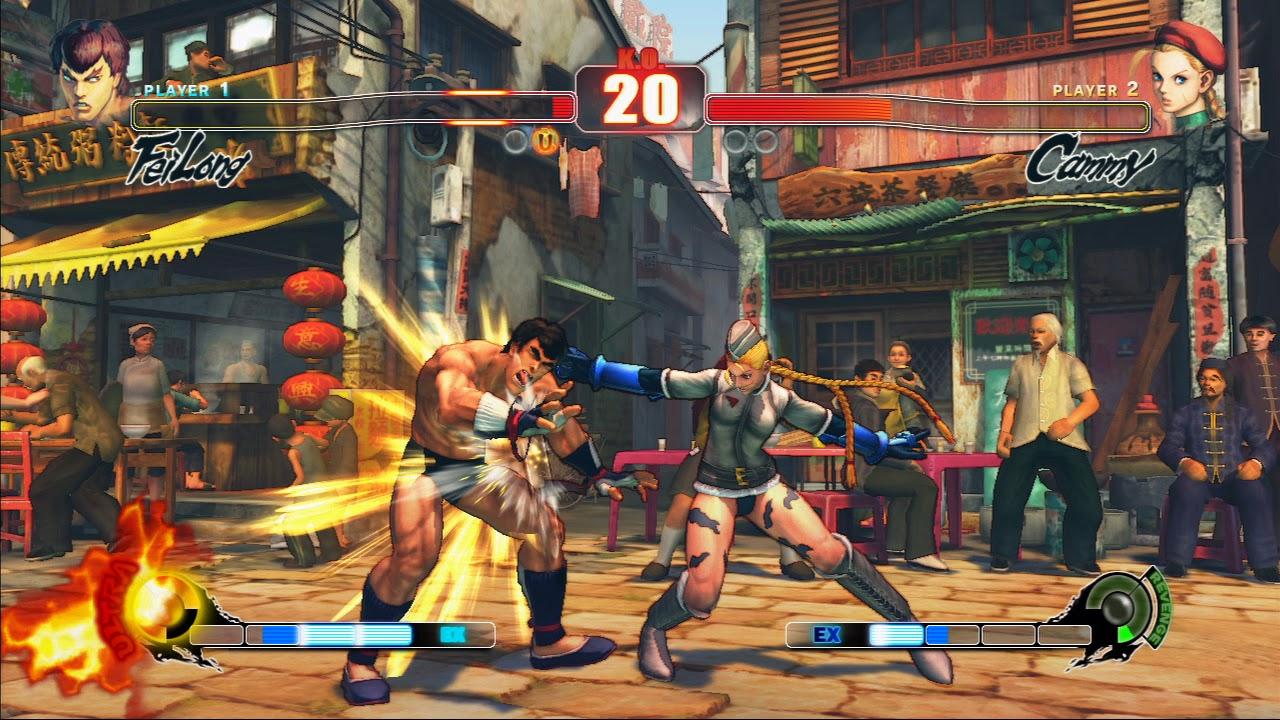 Descarga Juegos Mega Pc Street Fighter Iv Español