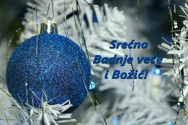 Srećno Badnje veče i Božić!