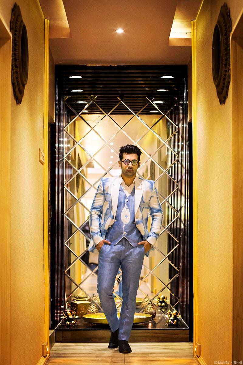 Dushyant Katewa Campaign Shoot for India International Style Week Jaipur