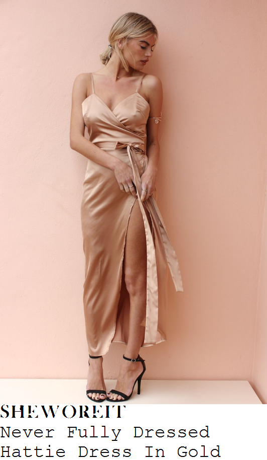 ferne-mccann-never-fully-dressed-hattie-gold-sleeveless-wrap-front-split-detail-satin-midi-dress