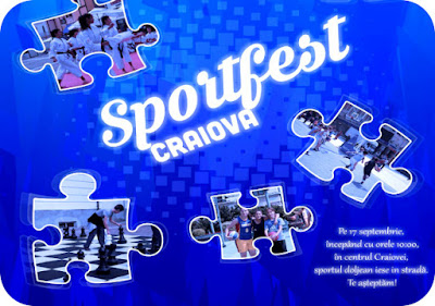 Craiova SportFest pe 17 Septembrie